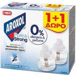 Εντομοαπωθητικό Υγρό Pure & Strong Ανταλλακτικό 25ml 1+1 Δώρο
