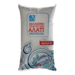 Αλάτι Ημίχονδρο Σε Σακουλάκι 1 Kg