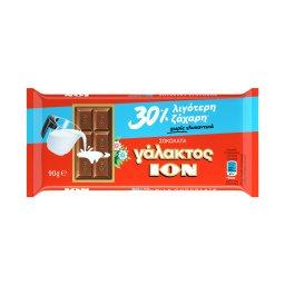Σοκολάτα Γάλακτος 30% Λιγότερη Ζάχαρη 90g