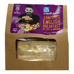 ΣΑΝΤΟΥΙΤΣ ENGLISH BREAKFAST 215 GR