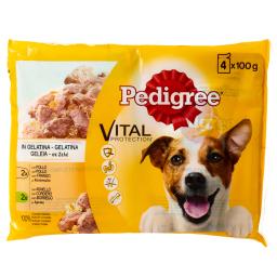 Υγρή Τροφή Σκύλων Ζελέ Κοτόπουλο & Αρνάκι 4 X 100gr