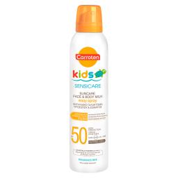 Αντηλιακό Γαλάκτωμα Spray Kids Sensicare SPF50 200ml