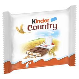 Σοκολάτα Γάλακτος Kinder Country 47g
