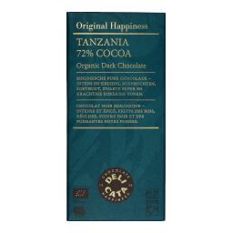 Μαύρη Σοκολάτα 72% Κακάο Τανζανία 100gr