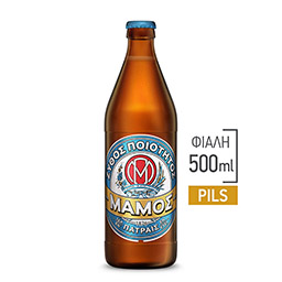 Μπύρα Pilsner Φιάλη 500ml