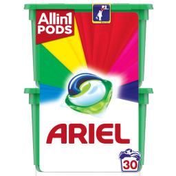 Kάψουλες Πλυντηρίου Ρούχων Allin1 Pods Color 15 Τεμάχια 1+1 Δώρο