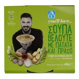 Σούπα Βελουτέ με Πατάτα & Πράσο 400g