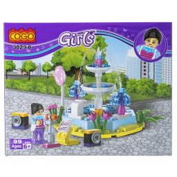 Παιχνίδι Τουβλάκια Girls 1 Τεμάχιο