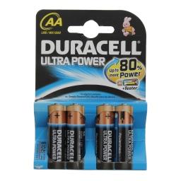 Μπαταρίες Αλκαλικές Ultra Power AA 4 Τεμάχια