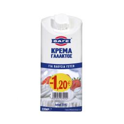Κρέμα Γάλακτος 1.2E Φθηνότερα  330 ml