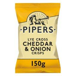 Τσιπς Cheddar & Κρεμμύδι 150g