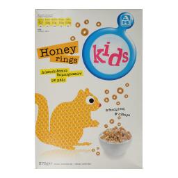 Δημητριακά Honey Rings Με Μέλι 375gr