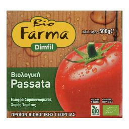 Τομάτα Passata Βιολογική 500gr