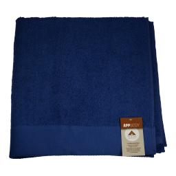 Πετσέτα Σώματος Βαμβακερή Μπλε 1 Τεμάχιο