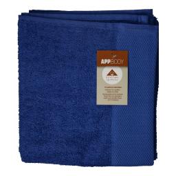 Πετσέτα Προσώπου Βαμβακερή Μπλε 1 Τεμάχιο