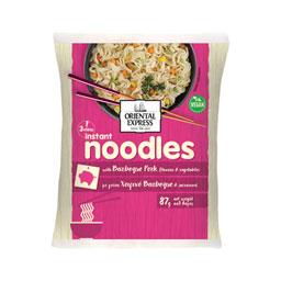 Noodles Χοιρινό Bbq Λαχανικά 87g