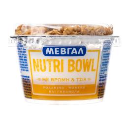 Επιδόρπιο Γιαουρτιού Nutri Bowl Ροδάκινο Μάνγκο Γκρανόλα 158g