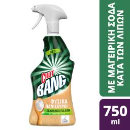 Spray Καθαρισμού Λιπών Φυσικά Πανίσχυρο Μαγειρική Σόδα 750ml