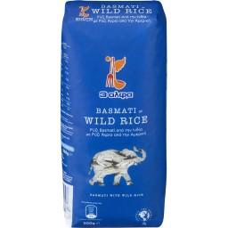 Ρύζι Basmati Ινδίας με Wild Rice Αμερικής 500gr