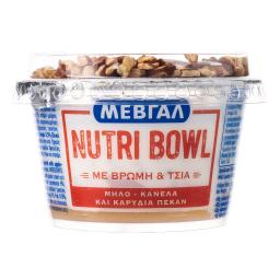 Επιδόρπιο Γιαουρτιού Nutri Bowl Μήλο Κανέλα Πεκάν 158g