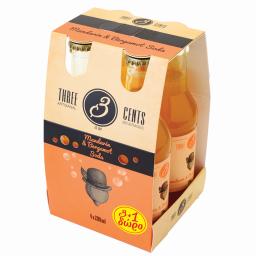 Αναψυκτικό Mandarin & Bergamot Gentlemen's Soda 4x200ml 3+1 Δώρο