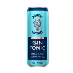 Αλκοολούχο Ποτό Sapphire Gin & Tonic 250ml