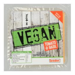 Τυρί Vegan Ντομάτα & Βασιλικός Φέτες 200gr
