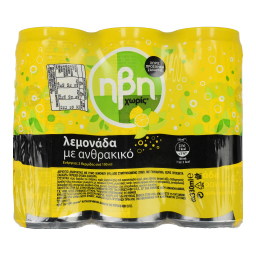 Αναψυκτικό Λεμονάδα Χωρίς Ζάχαρη Κουτί 6x330ml