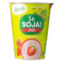 Επιδόρπιο Σόγιας Φράουλα Vegan 400g