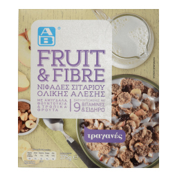 Δημητριακά Fruit & Fibre Ολικής Άλεσης 375gr