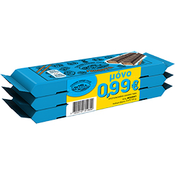 Γκοφρέτα Σοκολάτα Υγείας 3x34gr