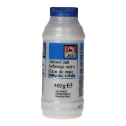 Αλάτι Πλαστική Φιάλη 400 gr