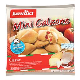Πιτάκια Κατεψυγμένα Mini Calzone Classic 450gr