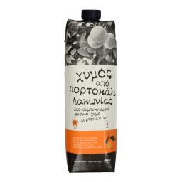 Χυμός Φυσικός Πορτοκάλι Λακωνίας 1lt