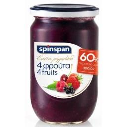 ΜΑΡΜΕΛΑΔΑ ΕΞΤΡΑ 4 ΦΡΟΥΤΑ 600 GR