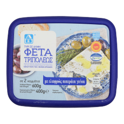Τυρί Φέτα Τριπόλεως ΠΟΠ Σε Άλμη 400gr