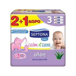 Μωρομάντηλα Calm Care Αλόη 57 Τεμάχια 2+1 Δώρο