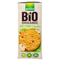 Μπισκότα Digestive Bio Βρώμη & Φρούτα 270g