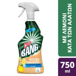 Spray Καθαρισμού Αλάτων Φυσικά Πανίσχυρο Λεμόνι 750ml