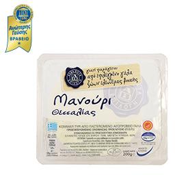 Τυρί Μανούρι Θεσσαλίας 200gr