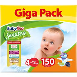 Πάνες Μωρού Sensitive No4 7-18kg Giga Pack 150 Τεμάχια