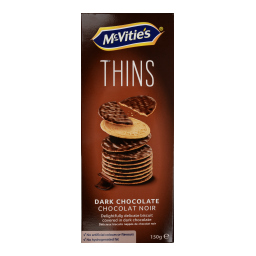 Μπισκότα Digestive Thins Σοκολάτα Υγείας 150g