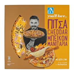 Πίτσα Cheddar Μπέικον Μανιτάρια 445g