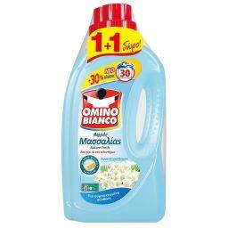 Υγρό Πλυντηρίου Ρούχων Αφρός Μασσαλίας Nature Fresh 30 Μεζούρες 1+1 Δώρο (1+1)
