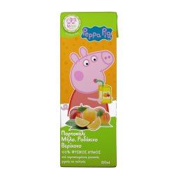 Φυσικός Χυμός Peppa Pig Πορτοκάλι Μήλο Ροδάκινο 250ml