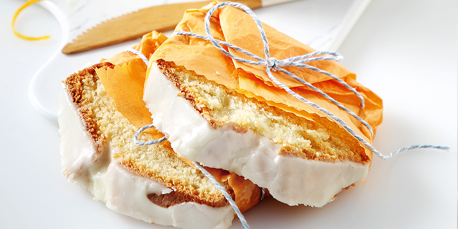 Εύκολο κέικ πορτοκαλιού με γλάσο, χωρίς μίξερ