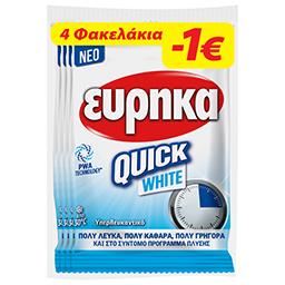 Ενισχυτικό Πλύσης Quick White 4x50g Έκπτωση 1Ε