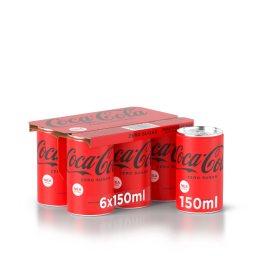 Αναψυκτικό Cola Zero Κουτί 6 X 150ml