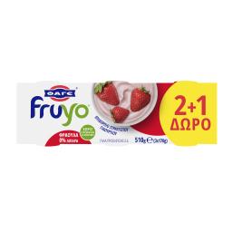 Επιδόρπιο Γιαουρτιού Επιδόρπιο Γιαουρτιού 0% Φράουλα