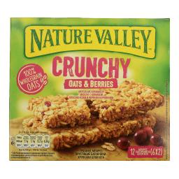 Μπάρες Δημητριακών Crunchy Κράνμπερι 6 X 42gr